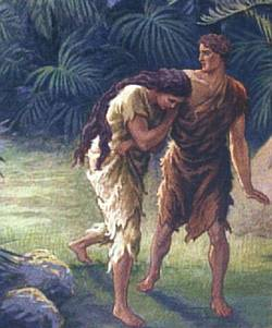 Image result for adam and eve after the fall