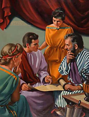 Through Aquila and Priscilla's teaching Apollos obtained a clearer understanding of the Scriptures and became one of the ablest advocates of the Christian faith.