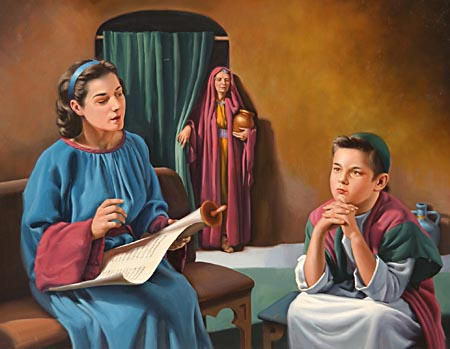 From a child, Timothy had known the Scriptures. The faith of his mother and his grandmother in the sacred oracles was to him a constant reminder of the blessing in doing God's will.
