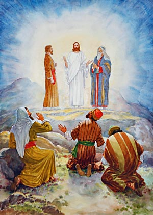 Moses and Elijah conversed with Jesus when He was transfigured.