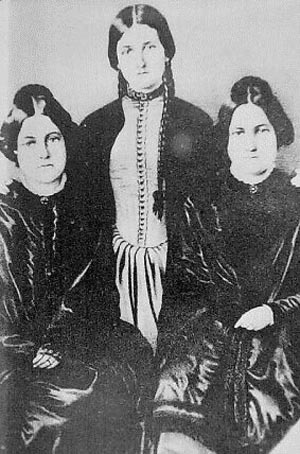 In the mid-1800s two of these sisters claimed to communicate with the dead.