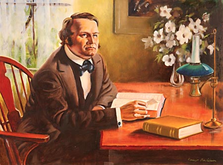 William Miller declared, 'I was constrained to admit that the Scriptures must be a revelation from God. They became my delight; and in Jesus I found a friend.'