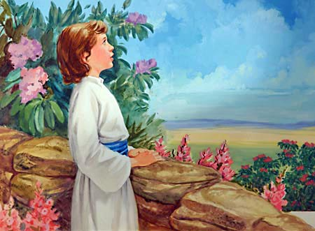 As a boy, Jesus found recreation amidst the scenes of nature, gathering knowledge as He sought to understand nature's mysteries.