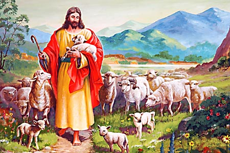 """He that scattered Israel will gather him, and keep him, as a shepherd doth his flock."""