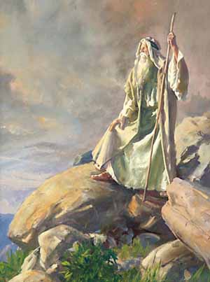 Was God being harsh and arbitrary in not allowing Moses to lead Israel into Canaan after these 40 years?