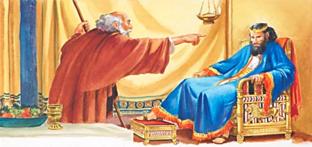 Would Nathan The Prophet Dare Give A Message Of Reproof To King David