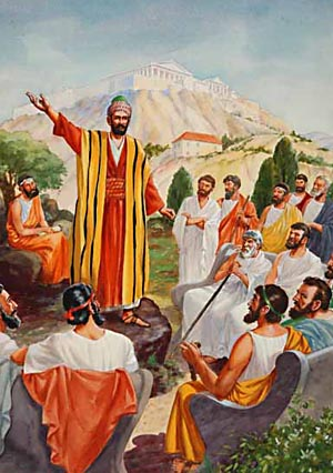 Paul poured out the burden of his soul and exposed the fallacies of the religion of the Athenians.